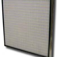 Filtre miniplis F7, F8 ou F9 pour centrale de traitement d'air