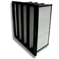 Filtre à poches rigides ou multidièdre F7, F8 ou F9 pour centrale de traitement d'air