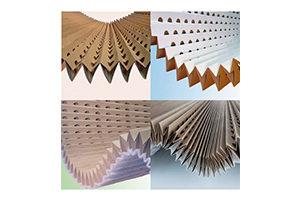 filtre carton plissé en accordéon pour cabine et robot de peinture/Extraction d'air chargé d'overspray de peinture