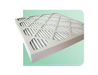 Filtre à air avec cadre en carton plissé efficacité G4 / Cellule en carton pour caisson de filtration