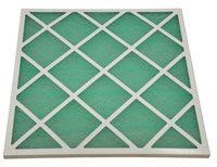 Filtre à air cadre carton, média fibre de verre, efficacité G2 ou G3