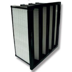 Filtre à air multi-dièdre / Filtre à poche rigide / Filtre haute efficacité F7 / filtres multidièdre F8 et F9 / Isofilter