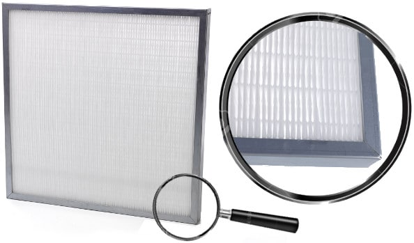 Filtre à air compact miniplis / Filtres à air compacts et haute efficacité pour protéger les filtres absolus HEPA
