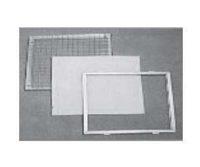 Filtre cadre métal rechargeable plan efficacité G3 G4 M5 / Filtre cadre métal rechargeable plissé efficacité G3 G4 M5 / Filtre avec croisillon pour recharge / Filtre avec grille de protection rechargeable