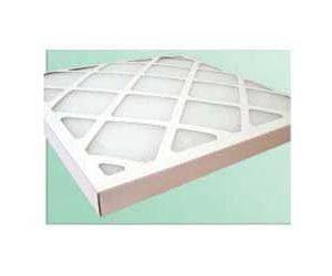 Cellule filtre à air en carton efficacité G3 / Efficacité G4 / G2