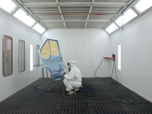 Filtre à air carton plissé alvéolé / Filtre extraction peinture / Filtre à air pour cabine de peinture