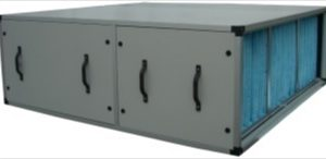 Caisson de filtration inter-gaines // Caisson de filtres poussières, gaz et fumées