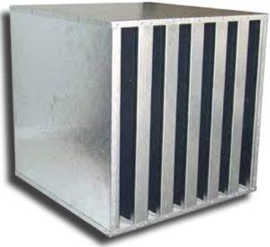 Filtre cellules à charbon actif / Filtre à charbon actif pour mauvaises odeurs / Filtre à charbon actif pour gaz et fumées