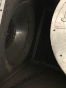 Caisson de filtration sale / Emplacement de filtre pour caisson de filtration