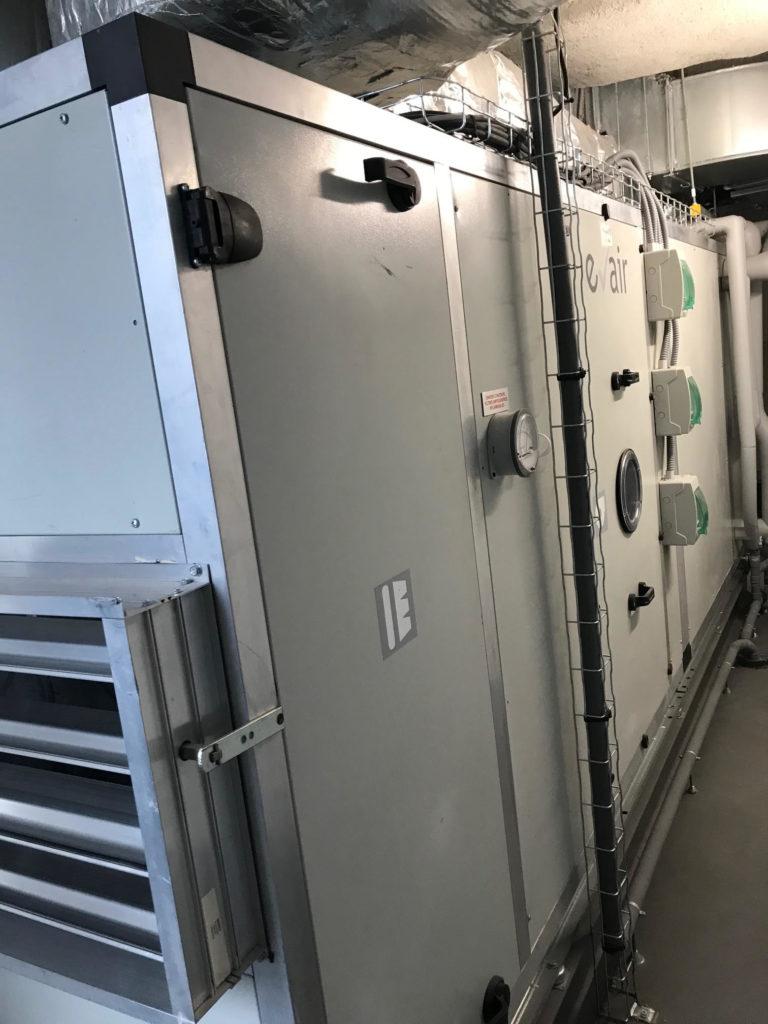 Centrale de traitement d'air immeuble tertiaire