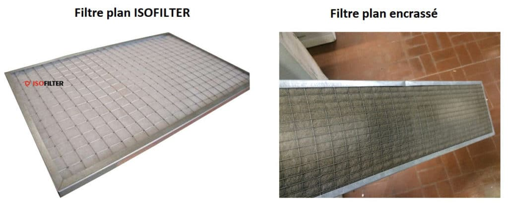 Filtre plan ISOFILTER