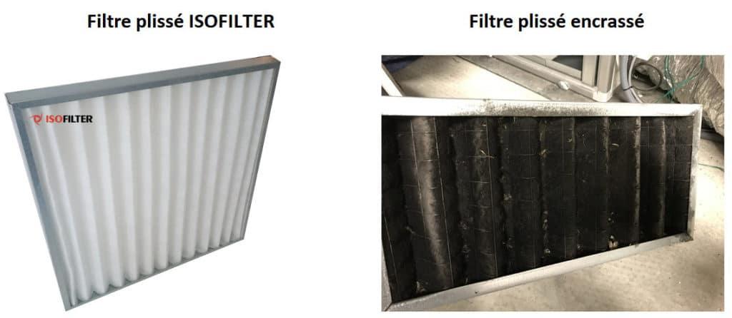 Filtre plissé ISOFILTER